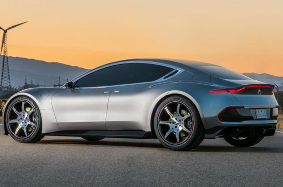Fisker EMotion promises 400-miles range and 9-minute charging time – in a wild start of 2018.