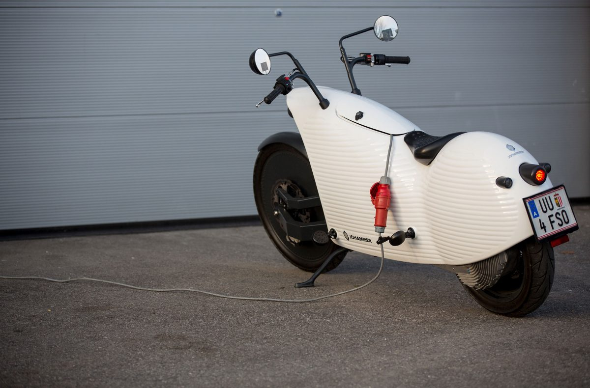 The New Superbike? Austria's Johammer e-bike setting up rules for e-mobility on two wheels