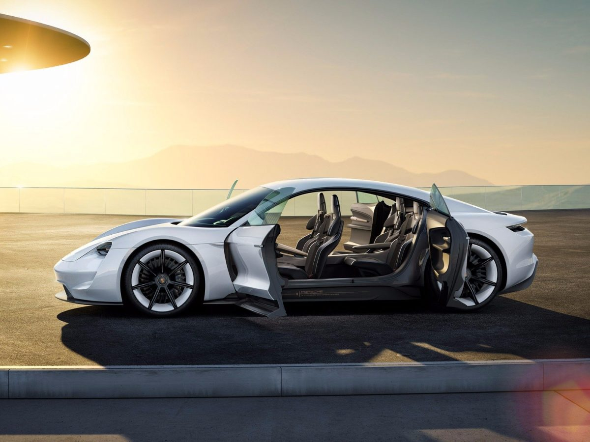 Porsche Mission E – back to the roots – finally Porsche return to electric power!