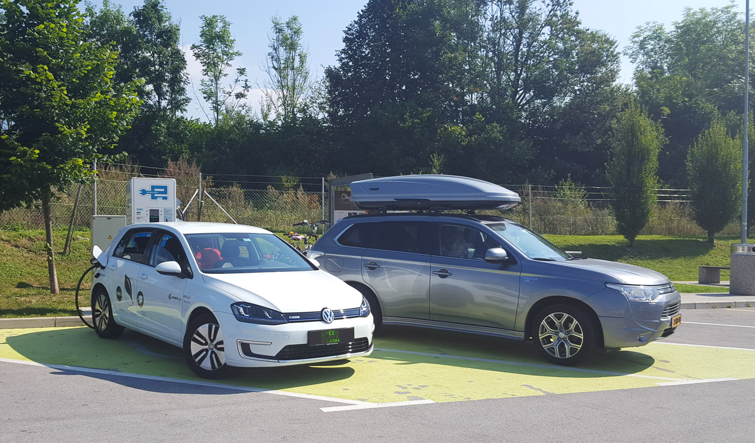 charging egolf on fast charger