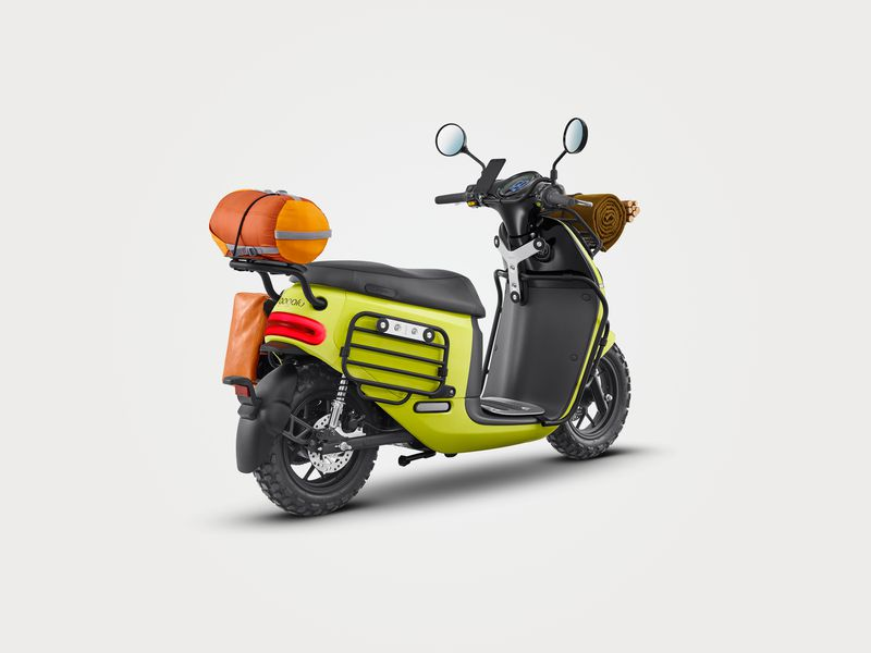 Gogoro 2 Smartscooter in off-road version