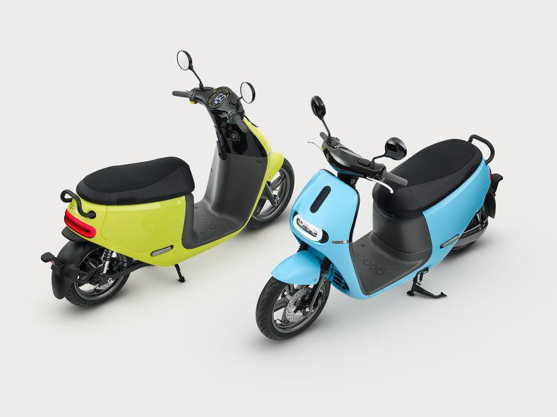 Stylish electric Gogoro 2 Smartscooter