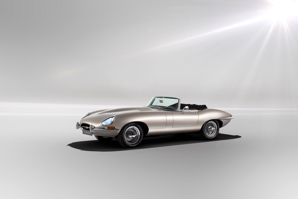 Jaguar E-type Zero – The most beautiful car ever made is back as British electric pride