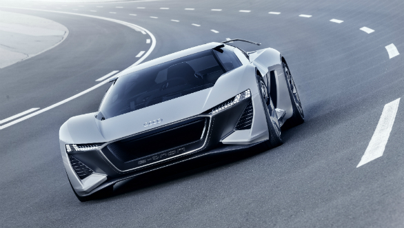 Should we make it into production car? Audi E-Tron PB 18 is beast with practical shooting-brake style body.