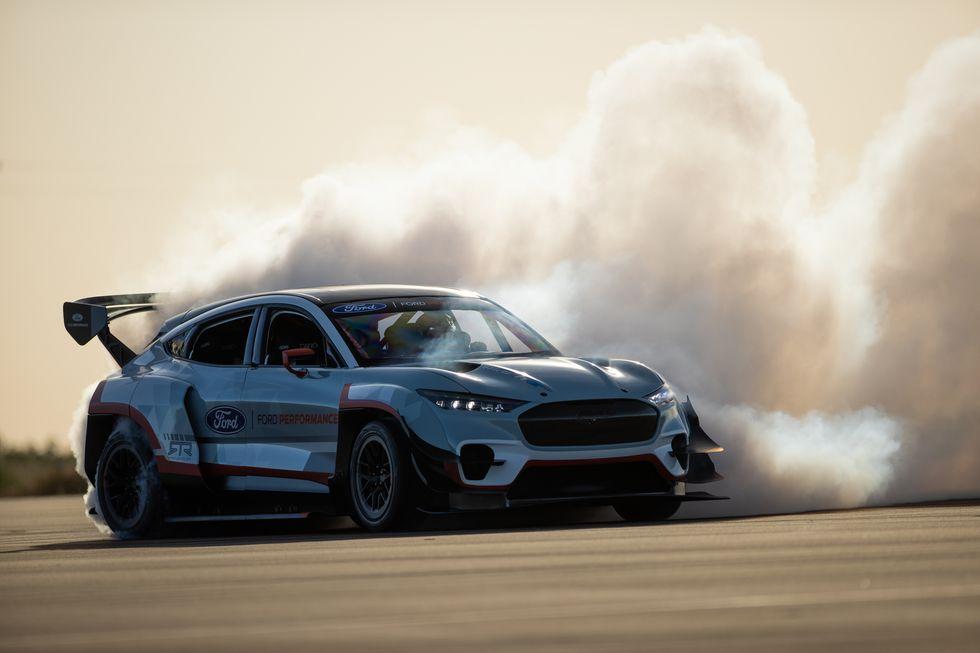 1400-HP Ford Mustang Mach-E Has 7 Motors and Ken Block Hoons Legend